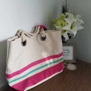 Handbags - SALE Canvas Beach bag